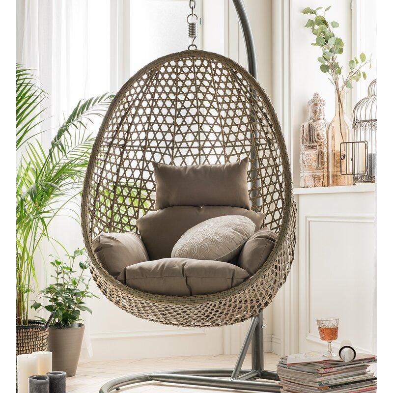 Bloomsbury Market Elbert Swing Chair Reviews Wayfair Co Uk