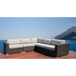 Nolen Patio Sectional with Cushions by Latitude Run