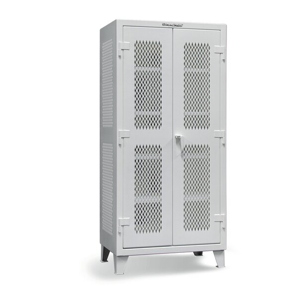 Strong Hold Products 78 H X 60 W X 24 D 2 Door Storage Cabinet Wayfair