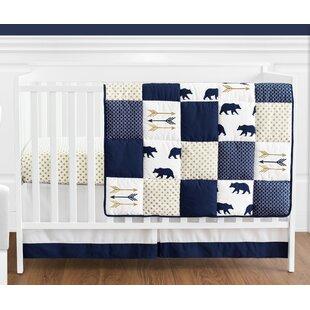 Big Bear 4 Piece Crib Bedding Set BySweet Jojo Designs