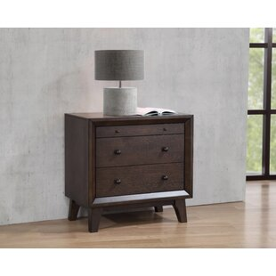 Vranduk 2  Drawer Nightstand in Brown