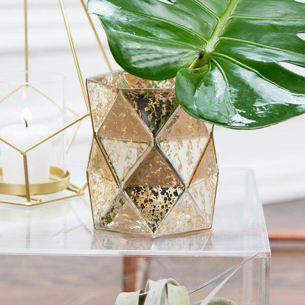 Gold Mercury Glass Vase | Wayfair