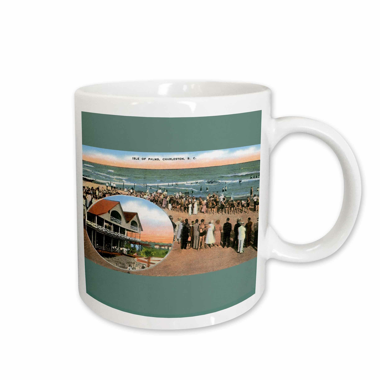 East Urban Home Isle Of Palms Charleston South Carolina Beach Scene Coffee Mug Wayfair