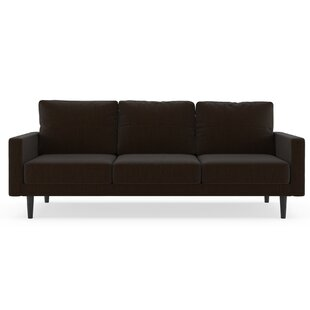 Schiffer Satin Weave Sofa by Orren Ellis Cool