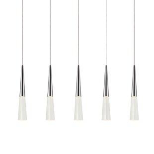 Spire 5-Light Kitchen Island Pendant by Sonneman