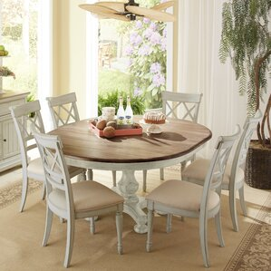 Allgood 7 Piece Dining Set by Highland Dunes