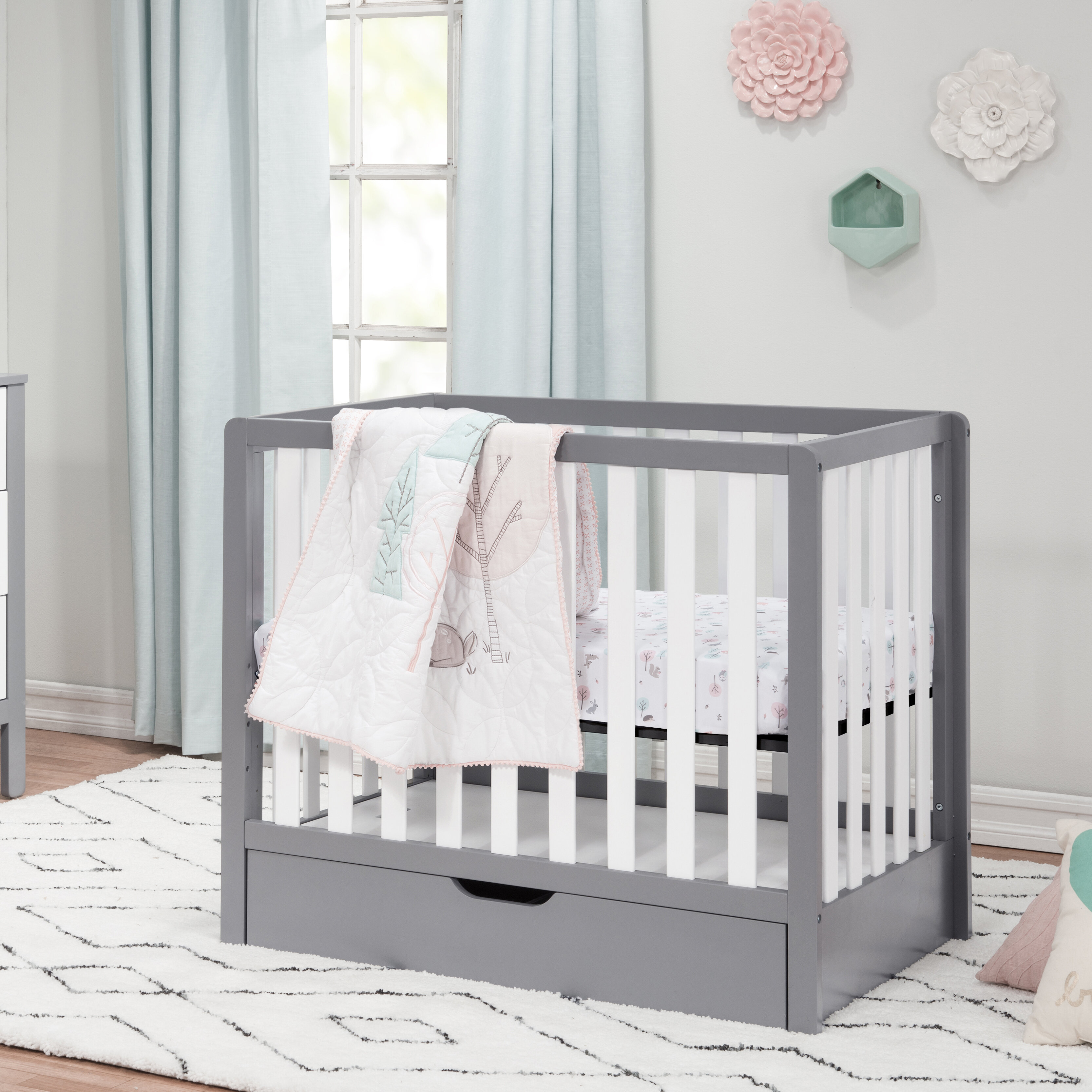 Carter S By Davinci Colby 4 In 1 Mini Convertible Crib With Storage Reviews Wayfair