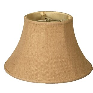 13 Burlap Bell Lamp Shade