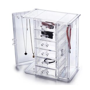 Searching for OnDisplay Tiered Acrylic Jewelry Cabinet Organizer By Vandue Corporation