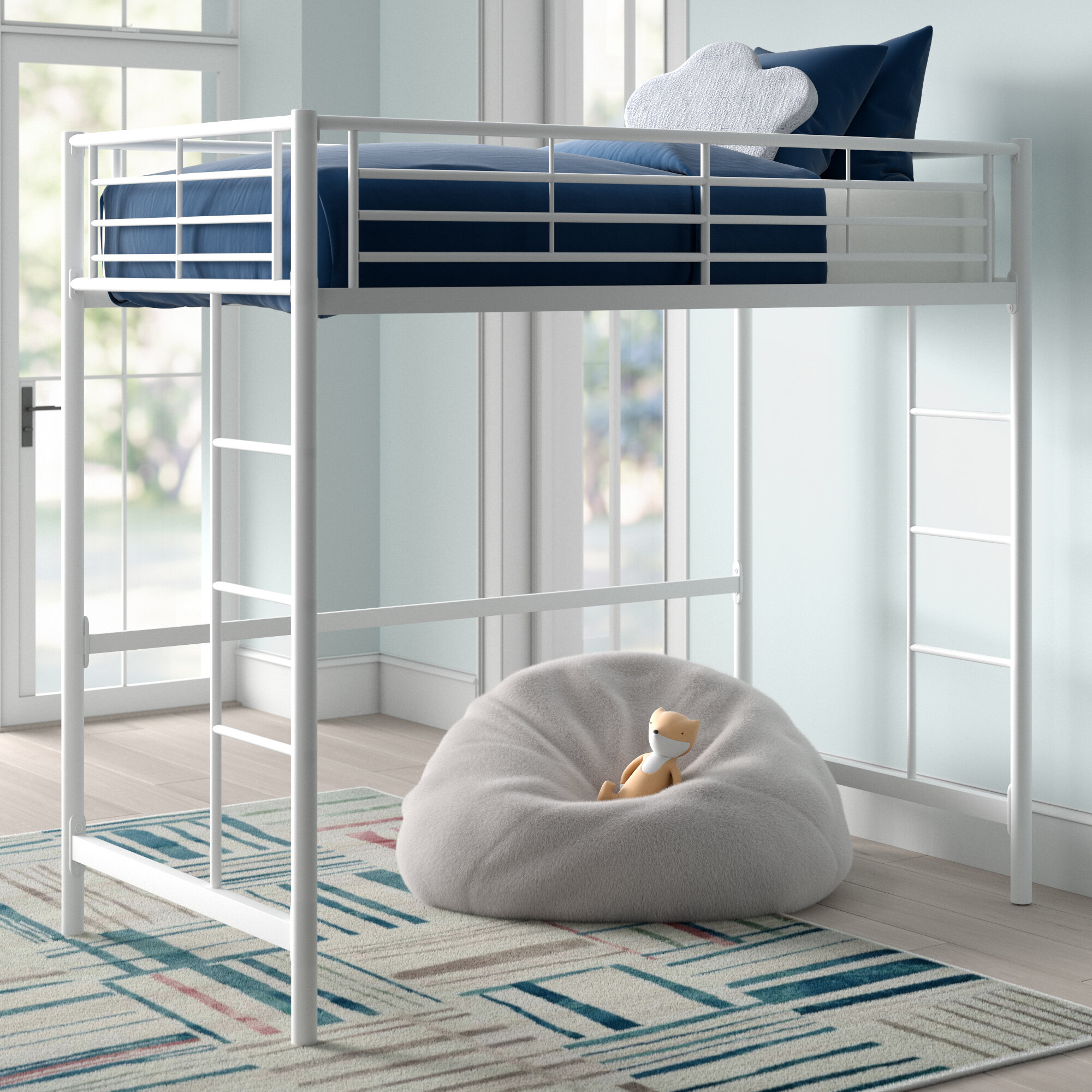 Loft White Kids Beds Free Shipping Over 35 Wayfair