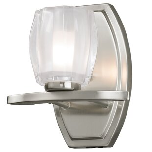 Detrick 1-Light Bath Sconce by Charlton Home
