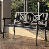 Metal Patio Benches Wayfair