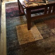 Williston Forge Moya Power Loom Brown Rug Reviews Wayfair Co Uk