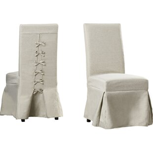 Erondelle Wood Leg Side Chair (Set Of 2)
