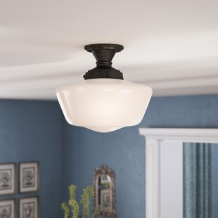 Priscilla 1-Light Semi Flush Mount