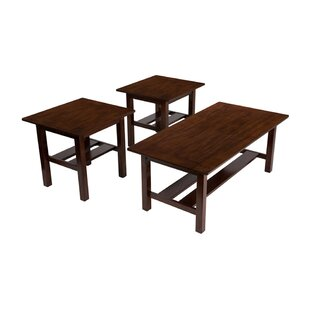 Winston Porter Ridgeway 3 Piece Coffee Table Set (Set of 3)