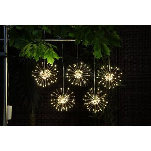 Pavonis Hanging Firework Novelty String Lights By Ebern Designs