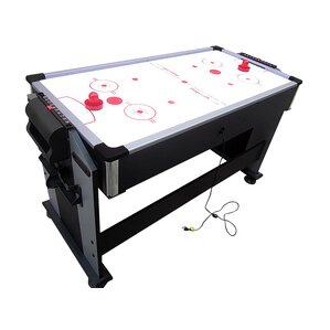 2 In 1 Sport Junior Air Hockey And Pool Table