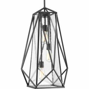 Solari 3-Light Geometric Chandelier by Brayden Studio