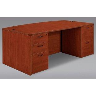 Fairplex Executive Desk by Flexsteel Contract