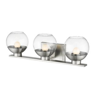 Wrought Studio Mingus 3-Light LEDl Vanity Light