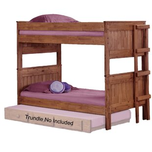 Chavez Stackable Twin Over Twin Bunk Bed by Harriet Bee