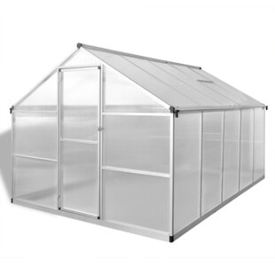 2.5m W X 3m D Greenhouse By DCor Design