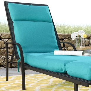 French Edge Indoor/Outdoor Chaise Lounge Cushion