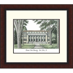 NCAA Colorado State Rams Legacy Alumnus Lithograph Picture Frame By Campus Images