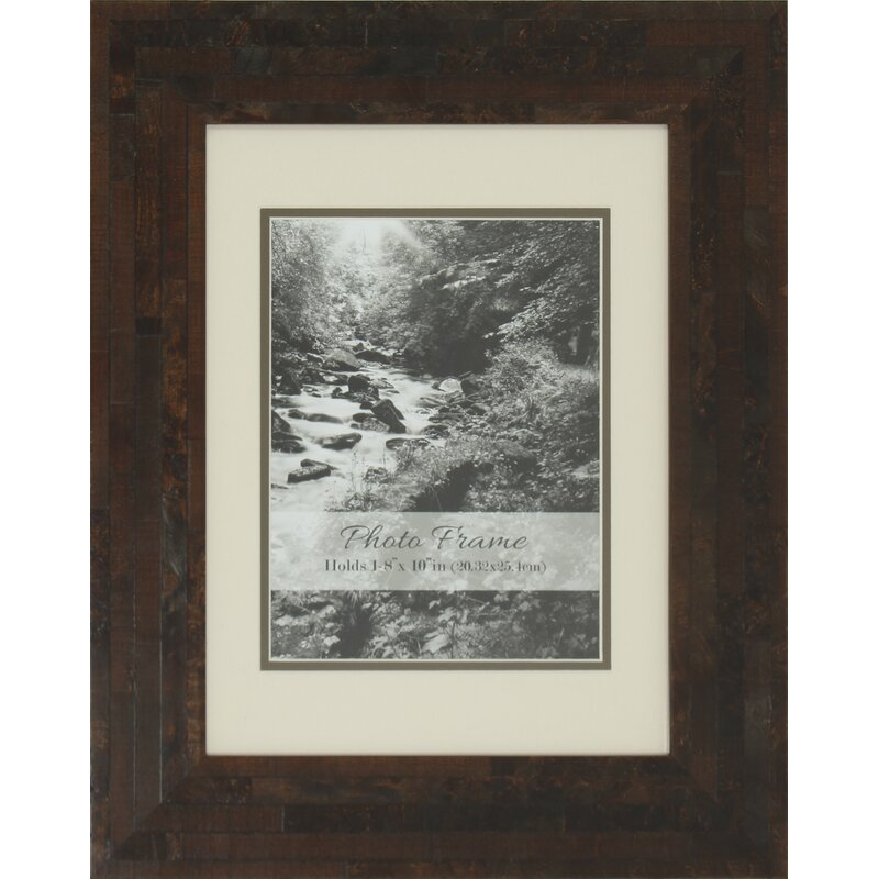 Millwood Pines Hester Double Matted Wood Picture Frame | Wayfair