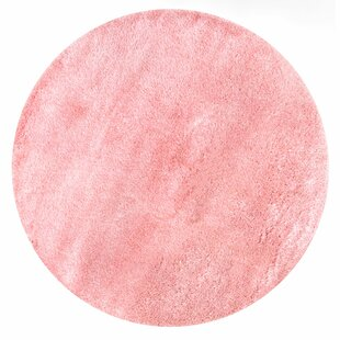 Julio Baby Pink Area Rug by Viv + Rae