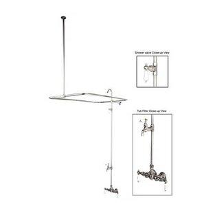 Elements of Design Vintage Diverter Shower Faucet