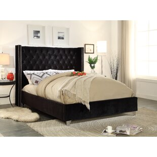 Everly Quinn Inverness Upholstered Platform Bed