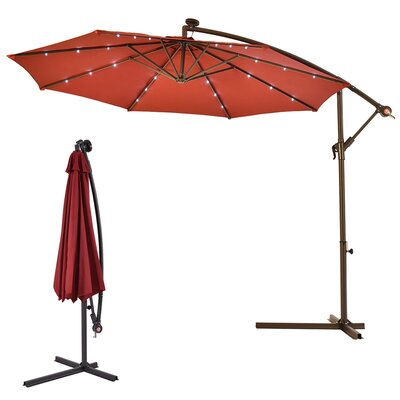 Bronwood 10 Cantilever Umbrella by Freeport Park #2