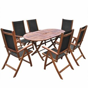 Ferris 6 Seater Dining Set By Sol 72 Outdoor