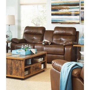 Amidon Motion Reclining Loveseat by Canor..