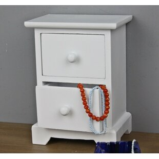 Oakpark 2 Drawer Bedside Table By Brambly Cottage