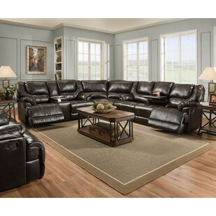 Starr Simmons Upholstery Reversible Reclining Sectional