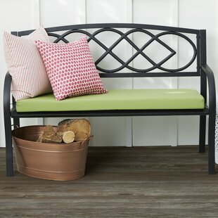 Celtic Knot Iron Garden Bench