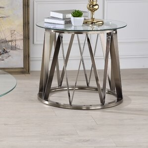 Bunker End Table by Orren Ellis