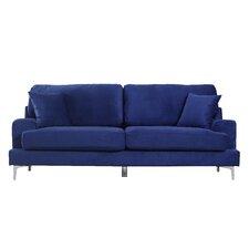 Velvet Sofa modern velvet sofas + couches | allmodern
