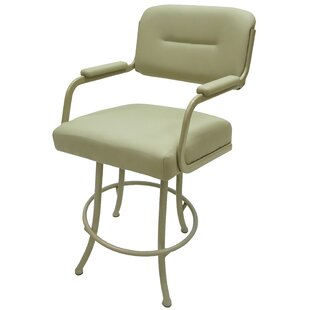 Sheryll 26 Swivel Bar Stool With Cushion by Red Barrel Studiot