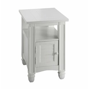 Laila End Table with Storage by Rosecliff Heights