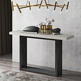 Dickman Mixed Console Table by Brayden Studio Wonderful