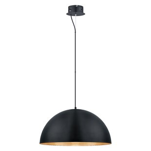 Corrigan Studio Rawson 1-Light Bowl Pendant