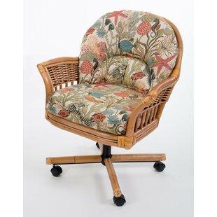 Moonsu Rattan Frame Dining Chair by Bayou..
