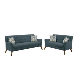 Shawn Velvet 2 Piece Living Room Set by George Oliver