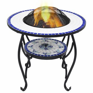 Dalys Steel Charcoal And Wood Burning Fire Pit By World Menagerie