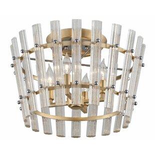 Sauterne 4-Light Semi Flush Mount by Corbett Lighting