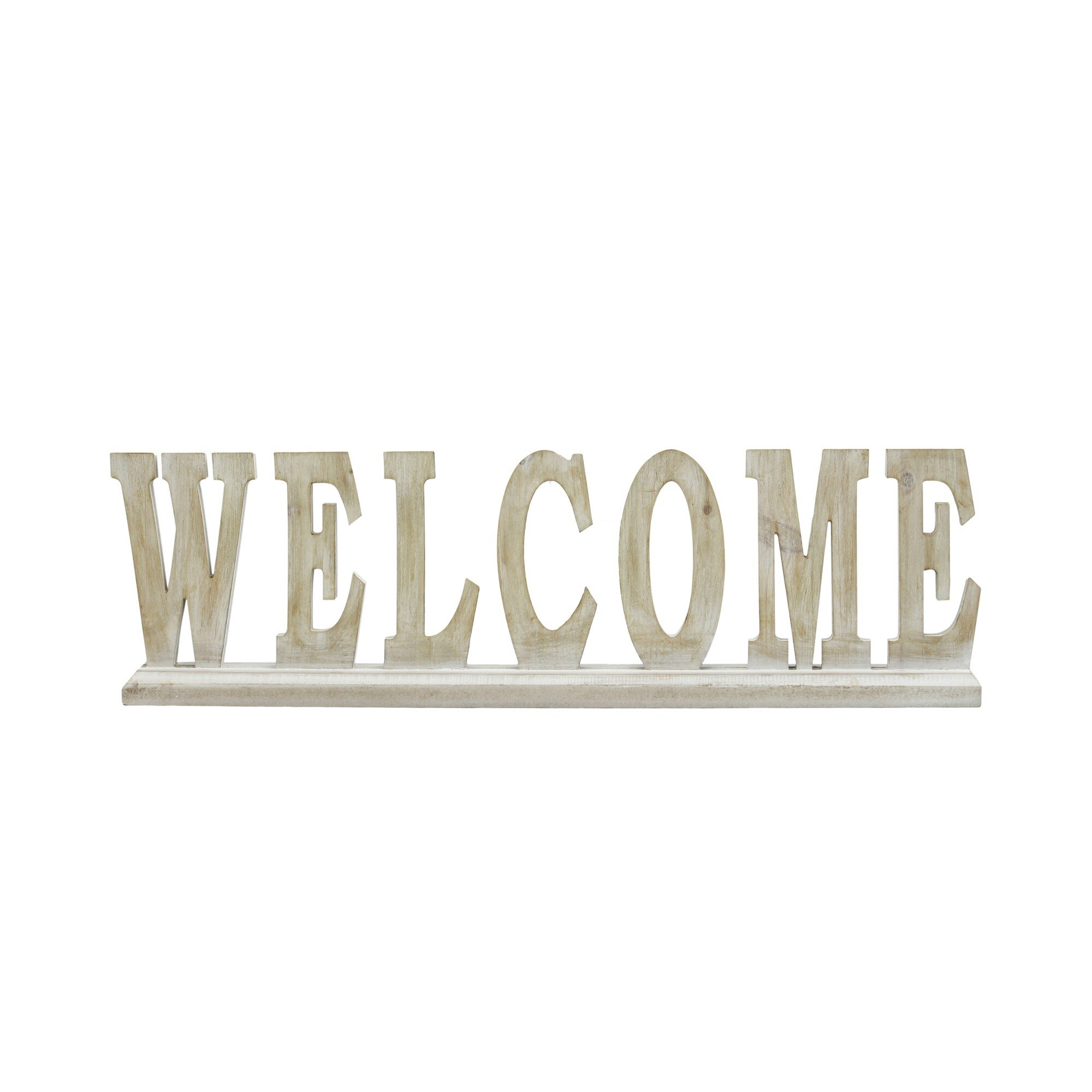 Home Welcome Letter Block Decorative Objects You Ll Love In 2021 Wayfair